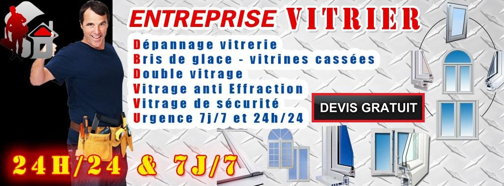 Vitrier Saint-ouen-l'Aumone - Telephone outil vitrier Saint-ouen-l'Aumone 01.34.28.61.92